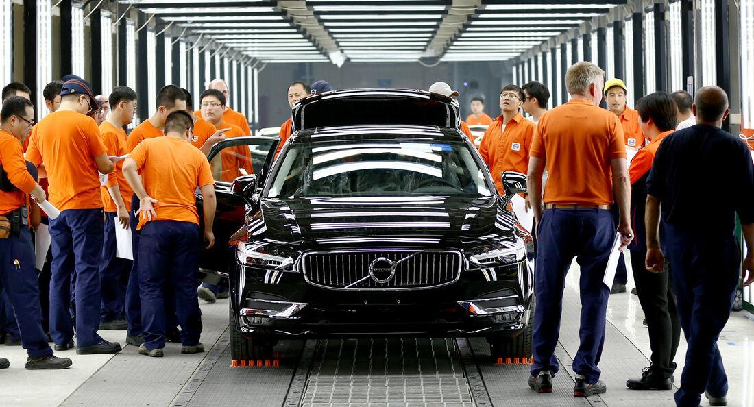 Volvo S90 Produktion China