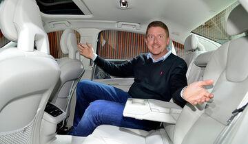 Volvo S90 Sitzprobe Jens Dralle
