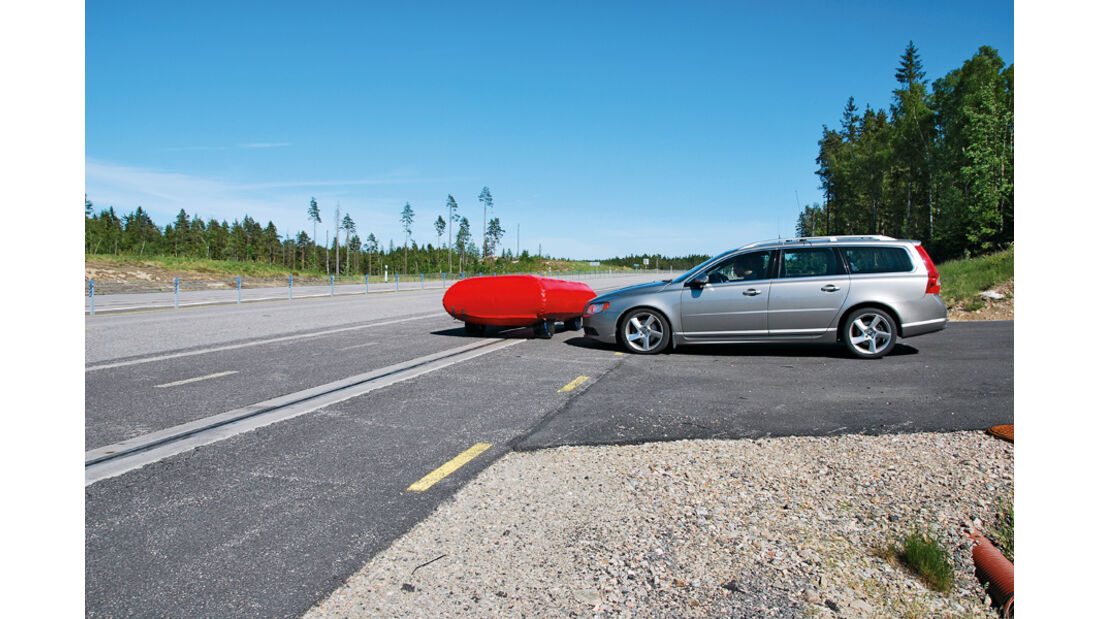Volvo, Sicherheitssystem, Roter-Dummy