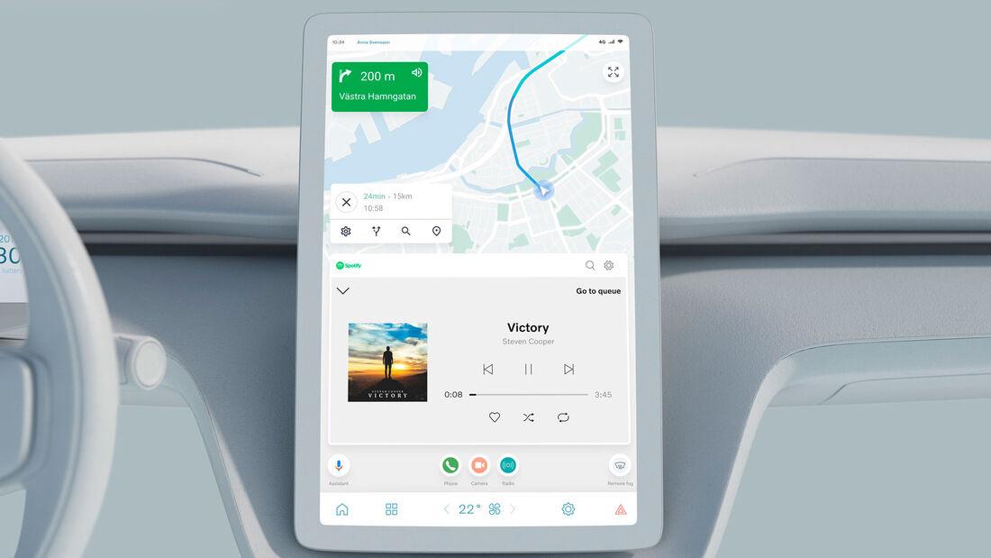Volvo Tech Day 2021 Betriebssystem