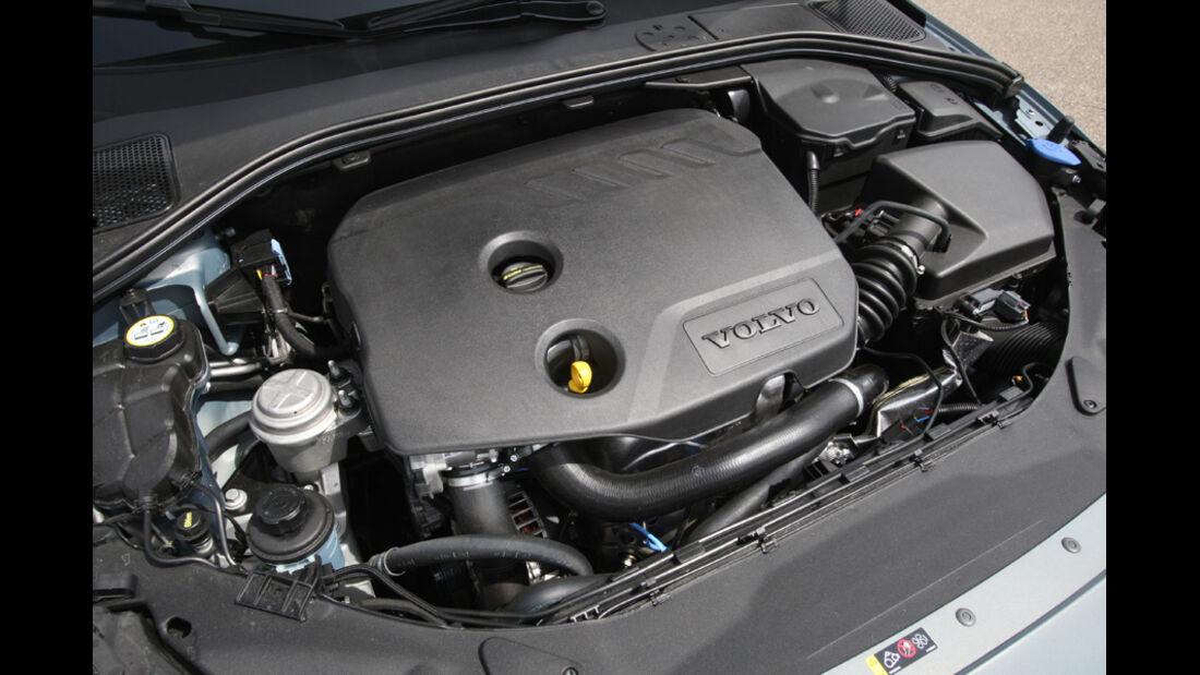 Volvo V 60 Drive, Motorraum, Motor