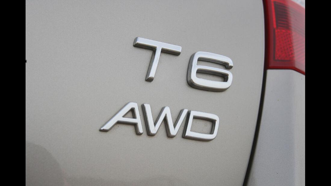 Volvo V 60, T6 AMW, Emblem, Schriftzug