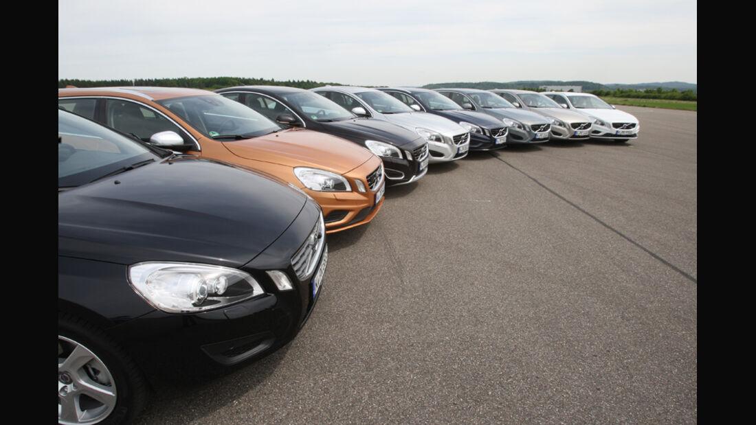 Volvo V 60, Volvo S 60, Gruppenbild
