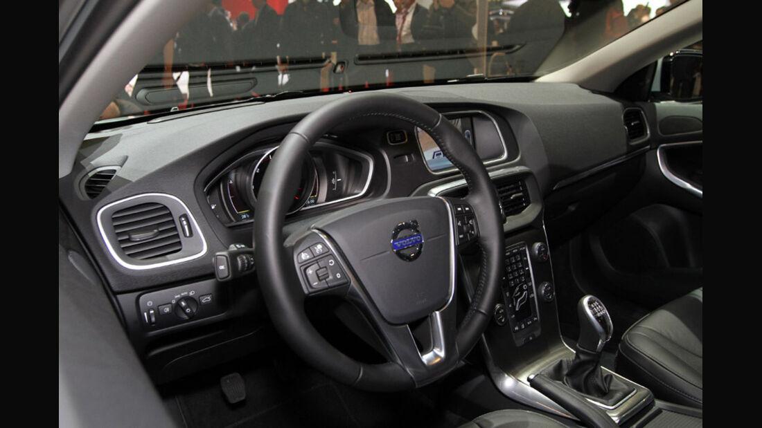 Volvo V40, Autosalon Genf 2012, Messe