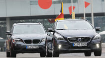 Volvo V40 Cross Country, BMW X1 x-Drive 28i, Frontansicht