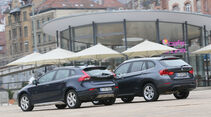 Volvo V40 Cross Country, BMW X1 x-Drive 28i, Heckansicht