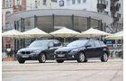 Volvo V40 Cross Country, BMW X1 x-Drive 28i, Seitenansicht