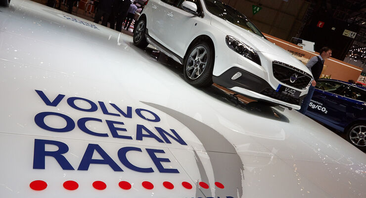 Volvo V40 Cross Country D4 Ocean Race Edition, Genfer Autosalon, Messe, 2014