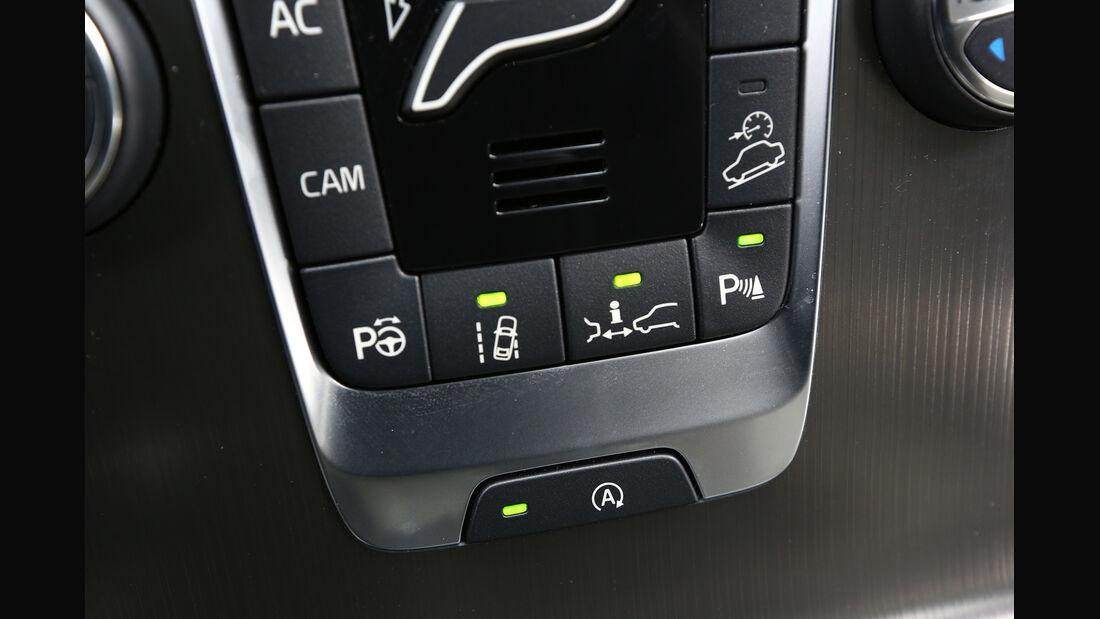Volvo V40 Cross Country, Mittelkonsole, Bedienelemente