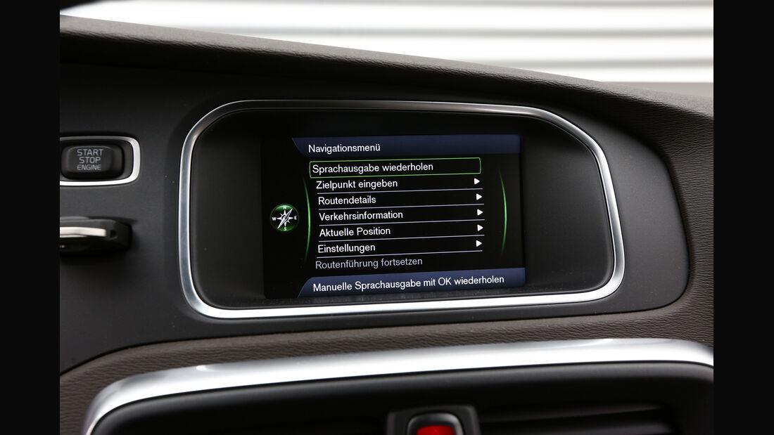 Volvo V40 Cross Country, Navi, Display