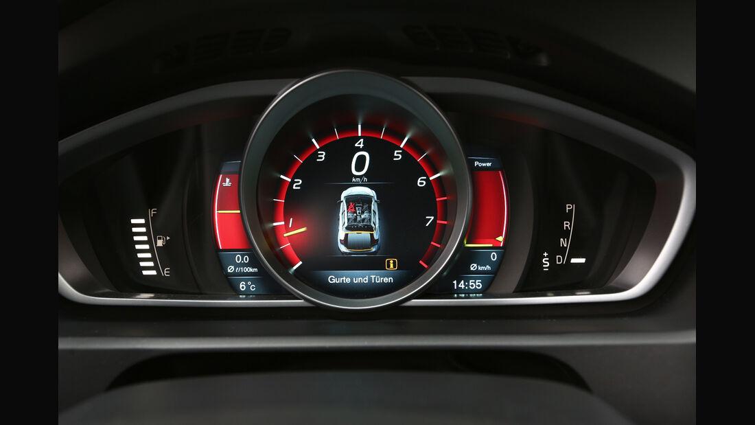 Volvo V40 Cross Country, Tacho, Rundinstrumente