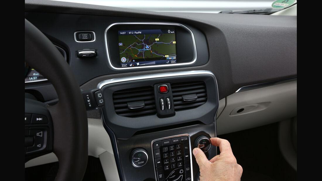 Volvo V40 Cross Country, Temperaturregler, Mittelkonsole
