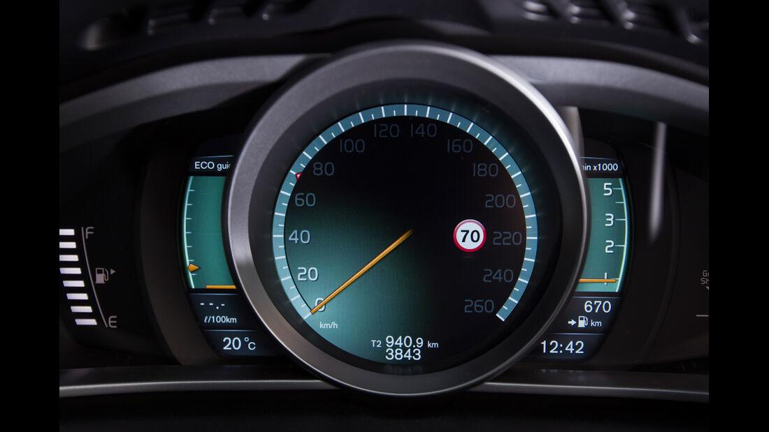 Volvo V40 D2, Tacho, Rundinstrument