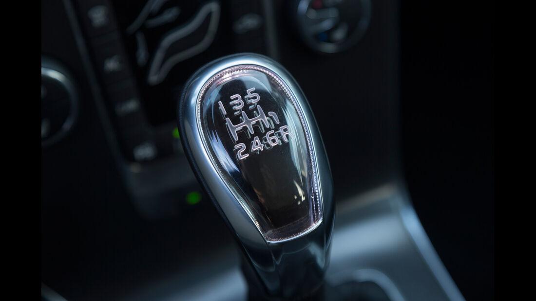 Volvo V40 D3, Schalthebel