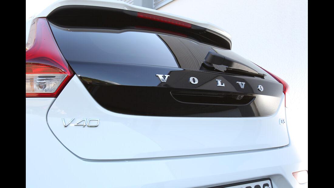 Volvo V40 D3, Typenbezeichnung, Heckfenster