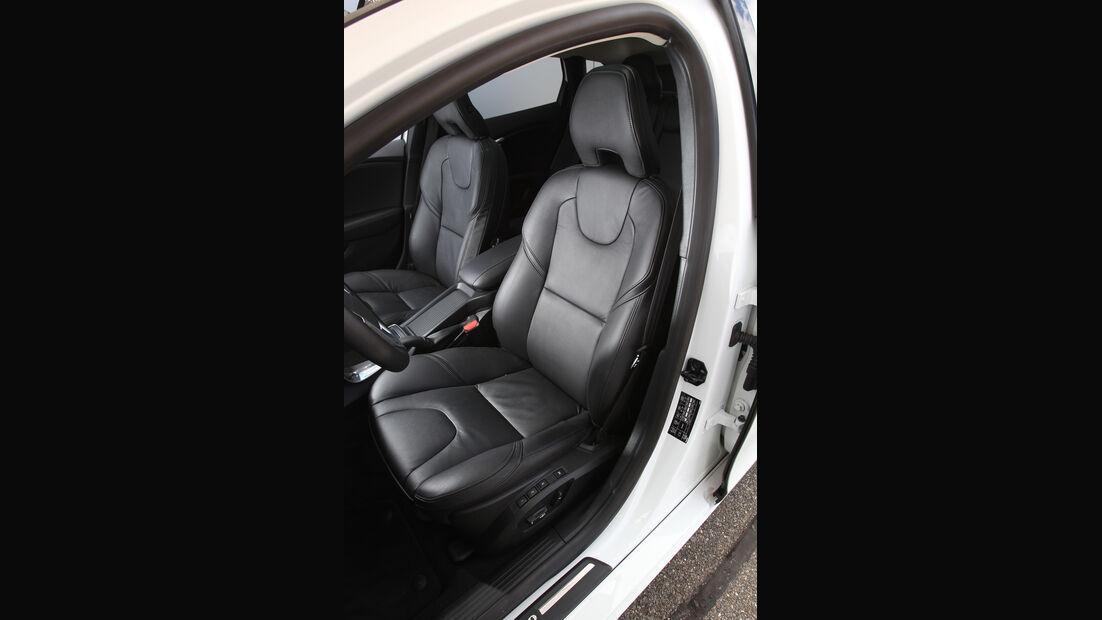 Volvo V40 D4 Summum, Fahrersitz, Ledersitz