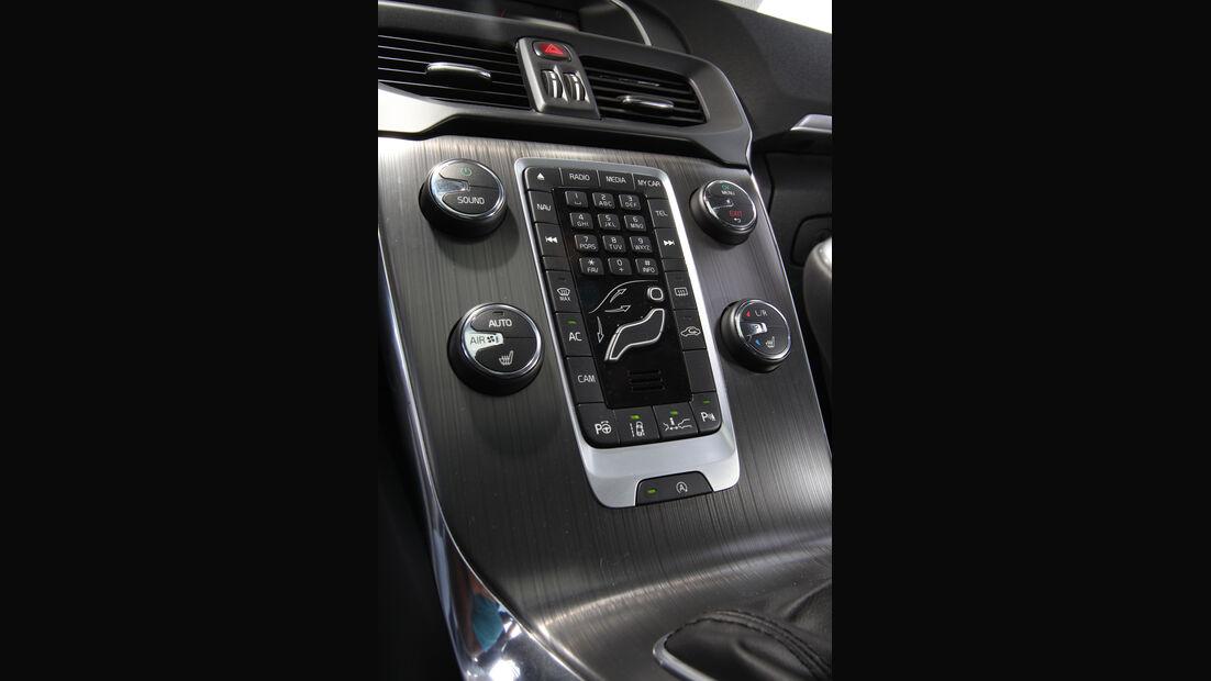 Volvo V40 D4 Summum, Mittelkonsole