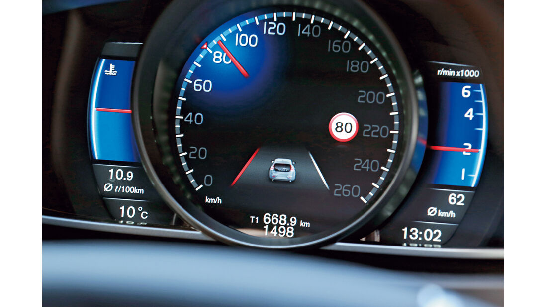 Volvo V40, Display, Infotainment