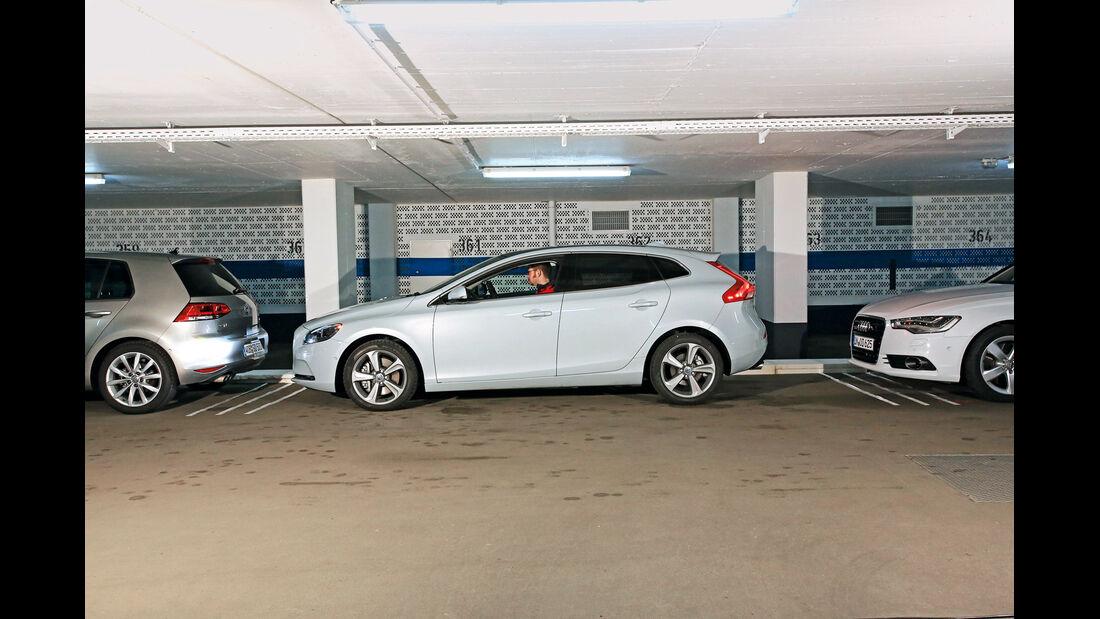 Volvo V40, Einparktest