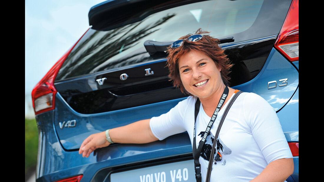 Volvo V40, Marina Wagner