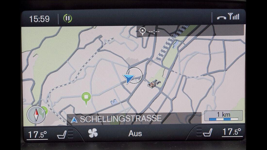 Volvo V40, Navigation