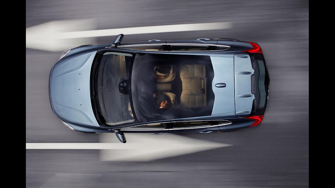 Volvo V40, Panorama-Glasdach