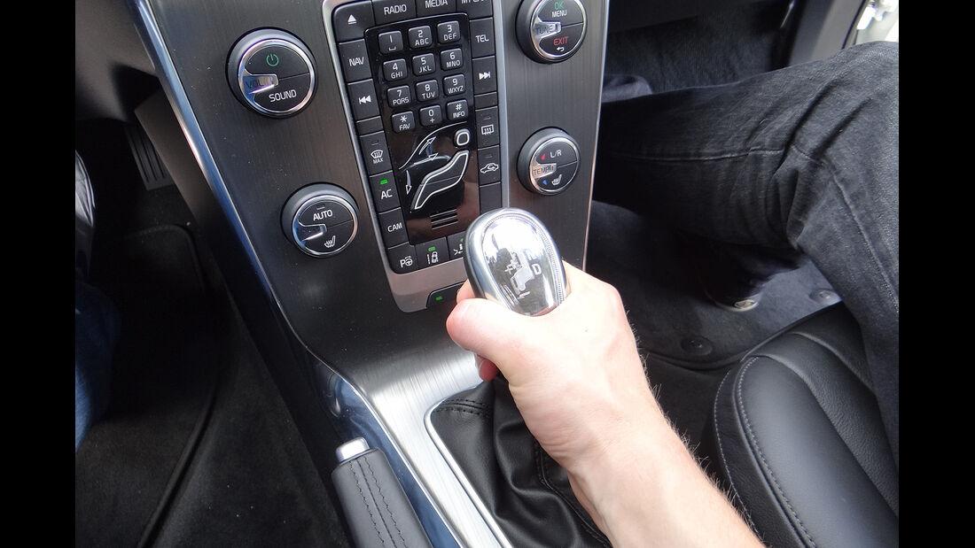 Volvo V40, Schalthebel