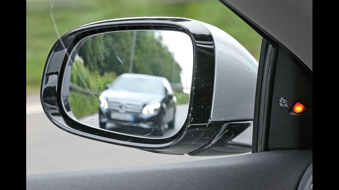 Volvo V40, Seitenspiegel