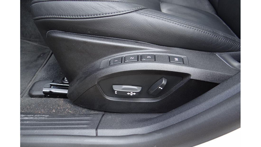 Volvo V40, Sitzeinstellung
