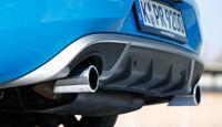 Volvo V40 T5 R-Design, Auspuff, Endrohre