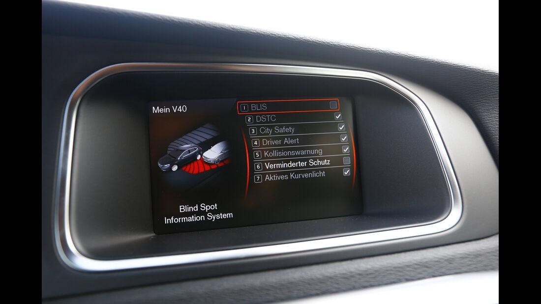 Volvo V40 T5 R-Design, Bildschirm, Bordcomputer