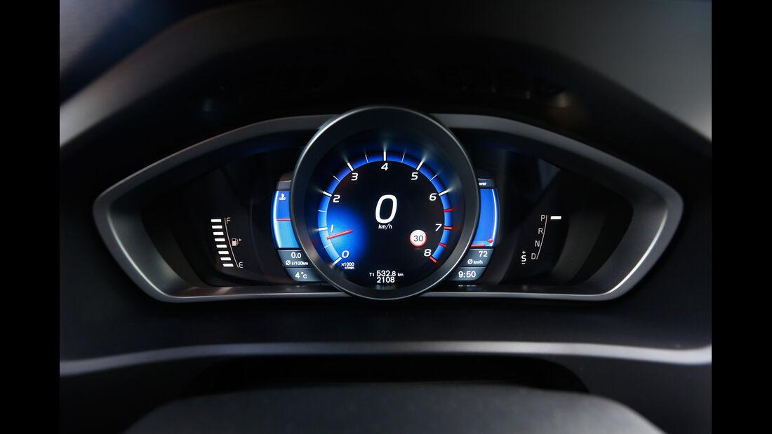 Volvo V40 T5 R-Design, Rundinstrumente