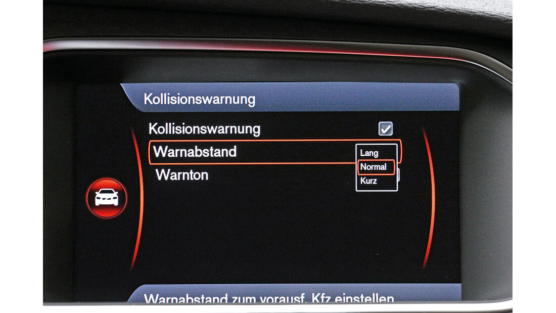 Volvo V40, Warnabstandsregler