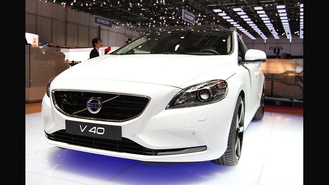 Volvo V40 in Genf 2012