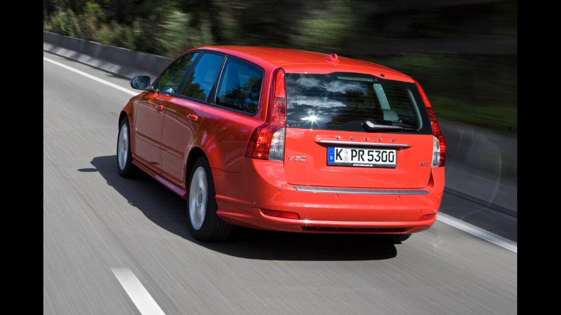 Volvo V50, Heck