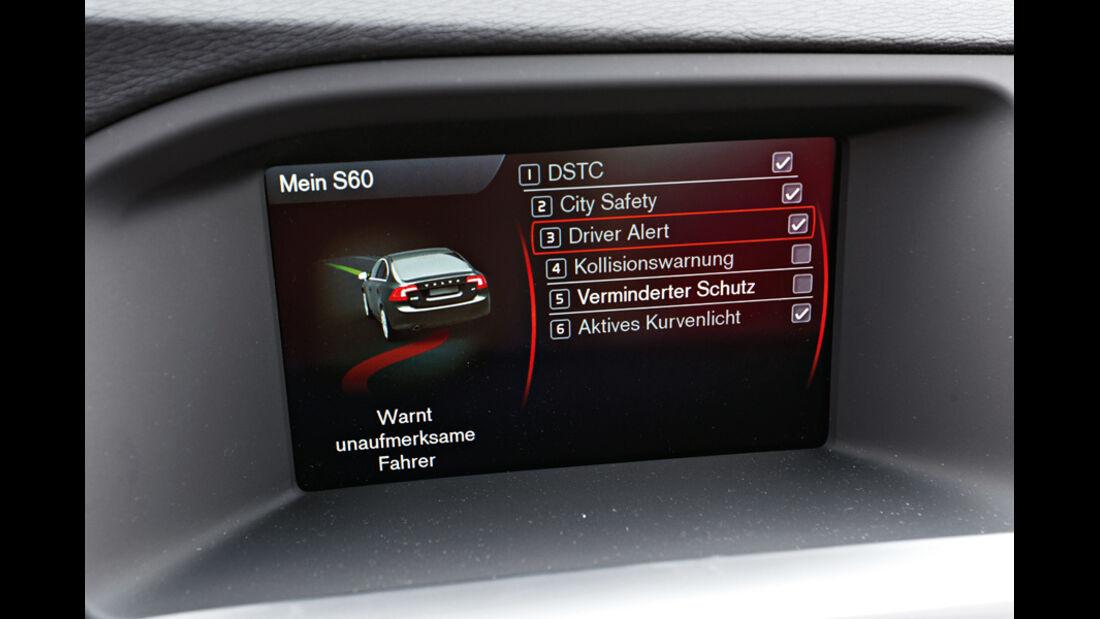 Volvo V60, Bildschrim, Parkhilfe