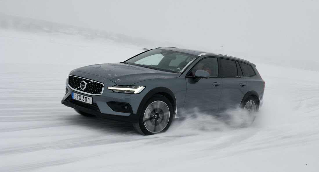 Volvo V60 Cross Country, Volvo V60 T8 Plug-in-Hybrid, Fahrbericht