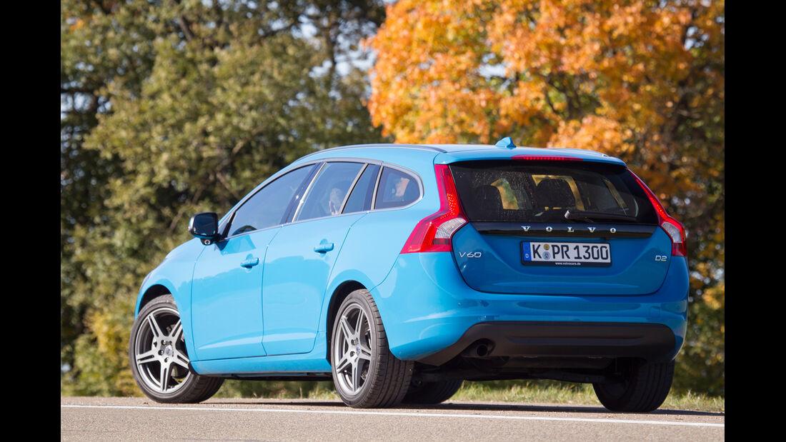 Volvo V60 D2, Heckansicht