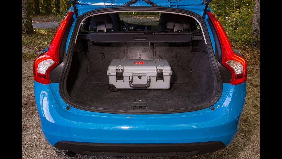 Volvo V60 D2, Kofferraum, Ladefläche