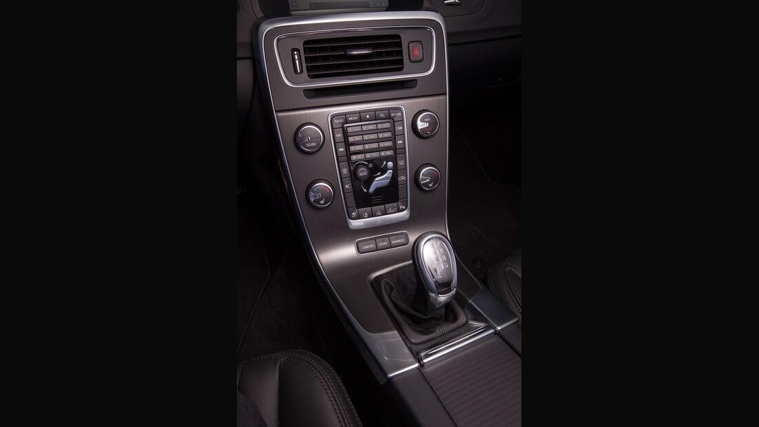 Volvo V60 D2, Mittelkonsole