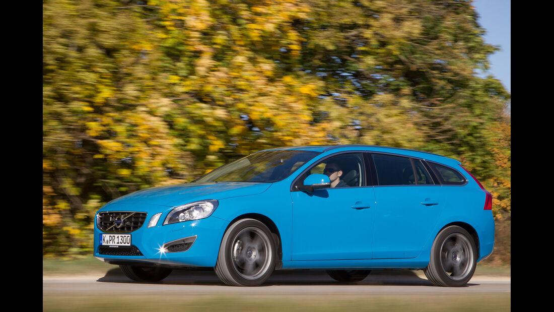 Volvo V60 D2, Seitenansicht