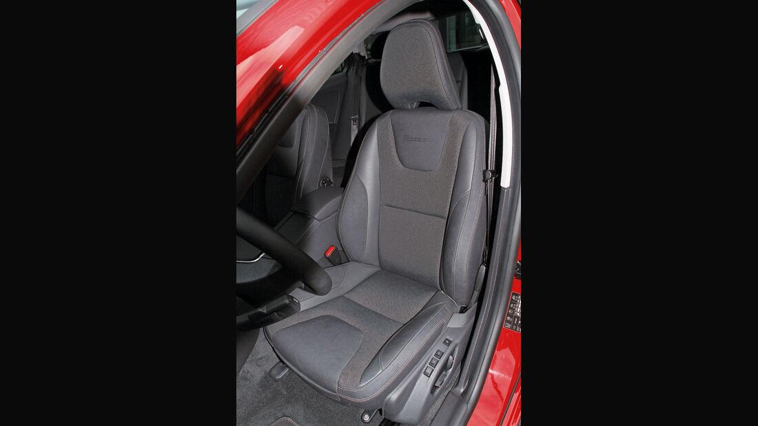 Volvo V60 D3, Fahrersitz
