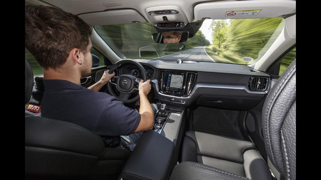 Volvo V60 D4, Interieur