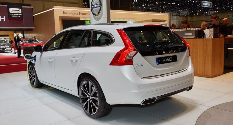 Volvo V60 D5 Hybrid - Genfer Autosalon 2015