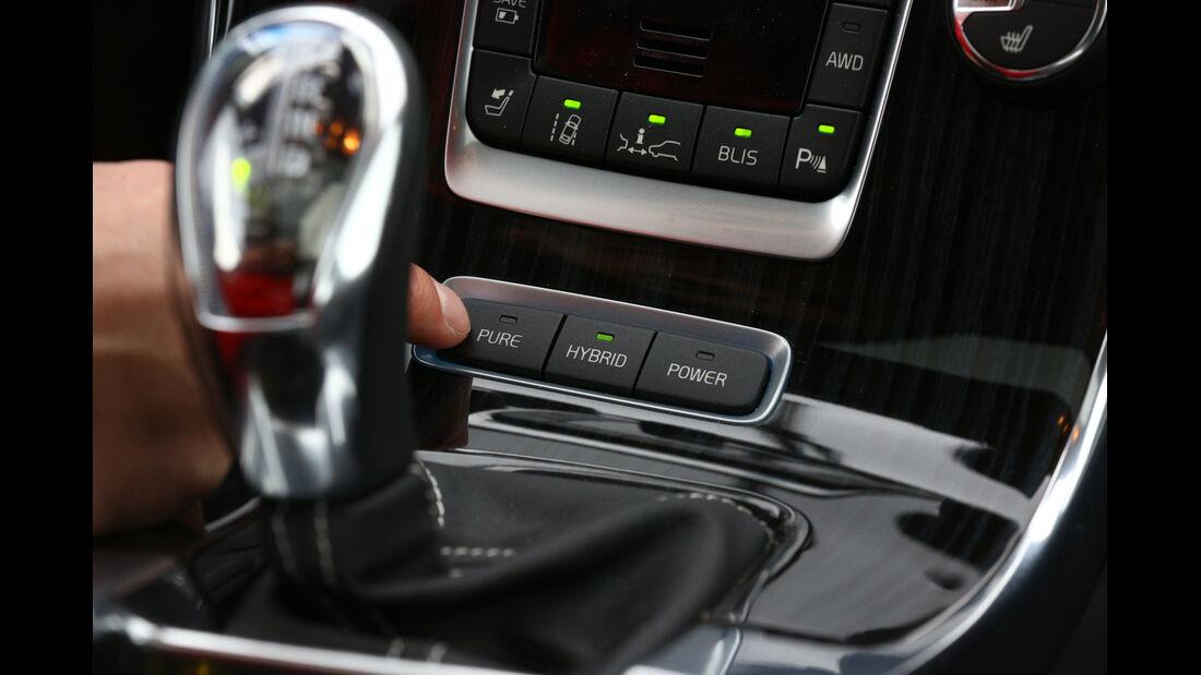 Volvo V60 D6 AWD, Fahrmodus, Bedienelemente