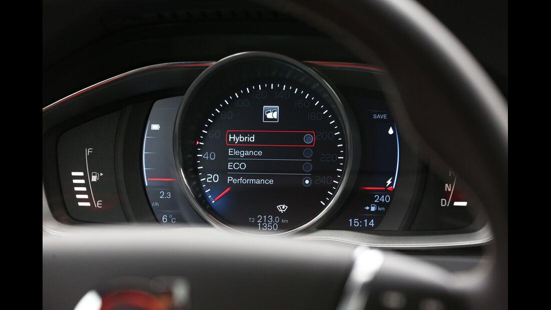Volvo V60 D6 AWD, Rundinstrument