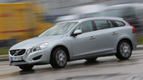Volvo V60 D6 AWD, Seitenansicht