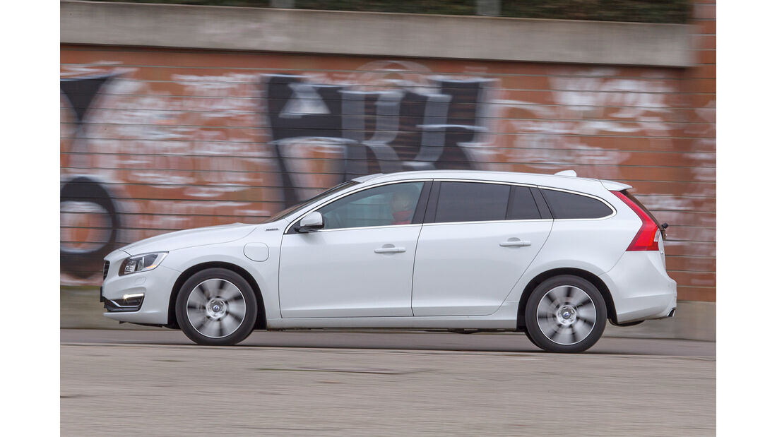 Volvo V60 D6, Seitenansicht