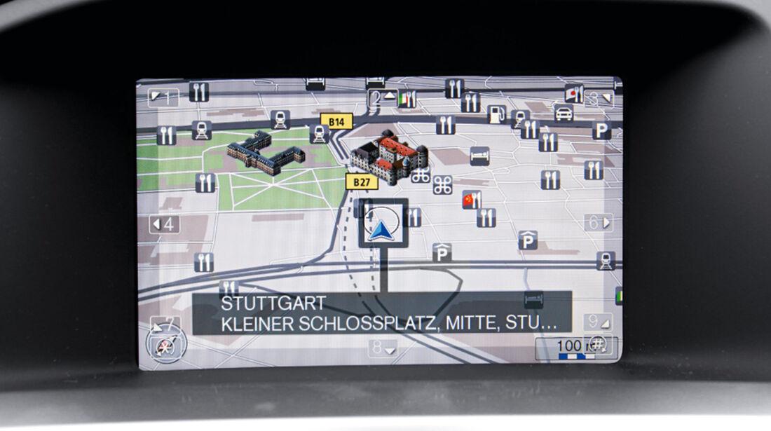 Volvo V60, Detail, Bildschirm, Navigationssystem