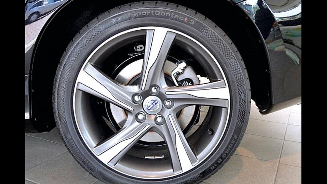 Volvo V60, Detail, Felge